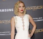 Jennifer Lawrence Lizenzfreies Stockbild