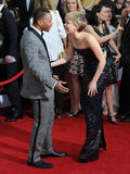 Jennifer Lawrence & Cuba Gooding Jr. Stock Photos