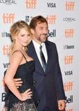 Jennifer Lawrence na premier do ` da mãe do ` no festival de cinema do International de Toronto imagens de stock royalty free