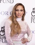 Jennifer Lopez. Actress, singer, dancer, producer, and pop superstar Jennifer Lopez attends the 33rd Annual Great Sports Legends Dinner, at the New York Hilton stock photography