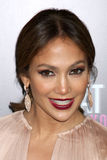 Jennifer Lopez arrives at the  Royalty Free Stock Images