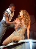 Jennifer Lopez führt im Konzert durch lizenzfreies stockbild
