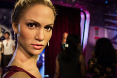 Jennifer Lopez figure Royalty Free Stock Image