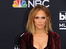 Jennifer Lopez. At the 2018 Billboard Music Awards held at the MGM Grand Garden Arena in Las Vegas, USA on May 20, 2018 stock images