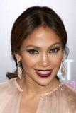 Jennifer Lopez kommt in an   lizenzfreie stockbilder