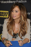 Jennifer Lopez. At the Launch of the BlackBerry PlayBook Tablet, Best Buy, West Los Angeles, CA. 04-19-11 royalty free stock photos