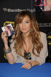 Jennifer Lopez. At the Launch of the BlackBerry PlayBook Tablet, Best Buy, West Los Angeles, CA. 04-19-11 royalty free stock photography