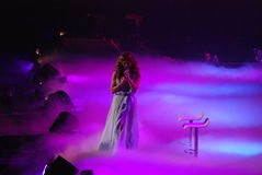 Jennifer Lopez Live in Helsinki Royalty Free Stock Images