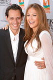 Jennifer Lopez, Marc Anthony Royalty-vrije Stock Foto
