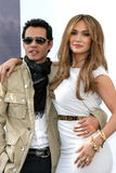 Jennifer Lopez, Marc Anthony Stock Foto's