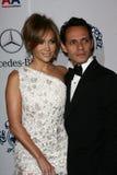 Jennifer Lopez, Marc Anthony lizenzfreie stockfotografie