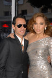Jennifer Lopez, Marc Anthony Stock Foto
