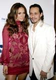Jennifer Lopez and Marc Anthony Royalty Free Stock Photography
