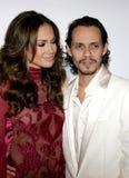 Jennifer Lopez and Marc Anthony Stock Photos