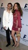 Jennifer Lopez and Marc Anthony Stock Image
