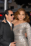 Jennifer Lopez, Marc Anthony Stock Photo