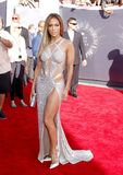 Jennifer Lopez. At the 2014 MTV Video Music Awards held at the Forum in Los Angeles, USA on August 24, 2014 Stock Photo
