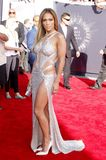 Jennifer Lopez. At the 2014 MTV Video Music Awards held at the Forum in Los Angeles, USA on August 24, 2014 Royalty Free Stock Photo