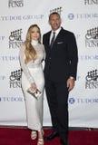 Jennifer Lopez och Alex Rodriguez royaltyfria bilder