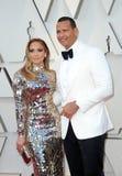 Jennifer Lopez och Alex Rodriguez royaltyfri fotografi