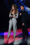Jennifer Lopez,Ryan Seacrest Stock Image