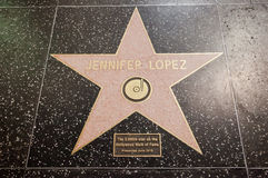 Jennifer Lopez Royalty Free Stock Image