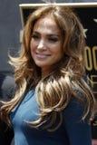Jennifer Lopez, Simon Fuller Stock Images