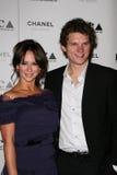 Jennifer Love Hewitt, Alex Beh, Amor-Hewitt de Jennifer Imagens de Stock Royalty Free