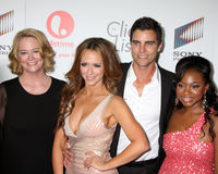Jennifer Love Hewitt, berger de Cybill, Colin Egglesfield Image libre de droits