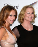 Jennifer Love-Hewitt,Cybill Shepherd Royalty Free Stock Photos