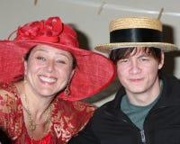 Jennifer Love-Hewitt, der SATZ, Camryn Manheim, Jennifer Love Hewitt, Christoph Sanders Stockbild