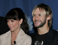 Jennifer Love Hewitt and Dominic Monaghan Royalty Free Stock Photography