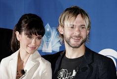 Jennifer Love Hewitt and Dominic Monaghan Stock Photography