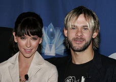 Jennifer Love Hewitt and Dominic Monaghan Royalty Free Stock Images