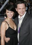 Jennifer Love Hewitt et Ross McCall Images stock