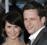 Jennifer Love Hewitt McCall i Ross Obraz Royalty Free