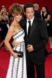 Jennifer Love Hewitt y Ross McCall Imágenes de archivo libres de regalías