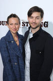 Jennifer Meyer,Tobey Maguire,Specials Royalty Free Stock Photography