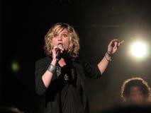 Jennifer-Nesseln im Konzert - Paris Frankreich Stockbilder
