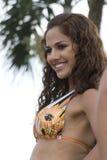 Jennifer pazmino contestant beauty contest Royalty Free Stock Photos