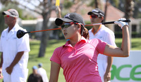 Jennifer song at the ANA inspiration golf tournament 2015 Royalty Free Stock Photography