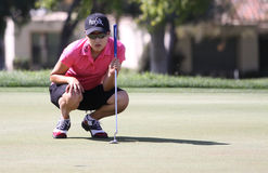 Jennifer song at the ANA inspiration golf tournament 2015 Royalty Free Stock Image