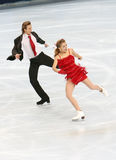 Jennifer WESTER/Daniil BARANTSEV dos EUA Fotografia de Stock Royalty Free