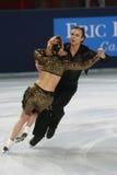 Jennifer Wester-Daniil Barantsev (USA) Royalty Free Stock Image