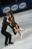 Jennifer Wester-Daniil Barantsev (USA) Royalty Free Stock Photos