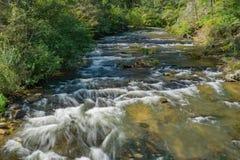 Jennings Creek encontrou Botetourt County, Virgínia, EUA imagens de stock