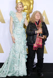 Jenny Beavan and Cate Blanchett Royalty Free Stock Images