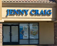 Jenny Craig Weight Loss Clinic Exterior Stockfoto