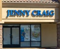 Jenny Craig Weight Loss Clinic Exterior Stock Foto