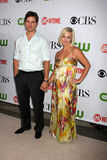 Jenny Garth,Peter Facinelli Royalty Free Stock Images